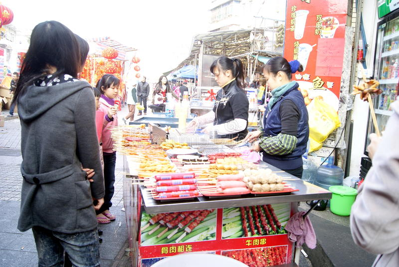 Download Shenzhen China: Local Snacks Editorial Photo - Image: 22742296