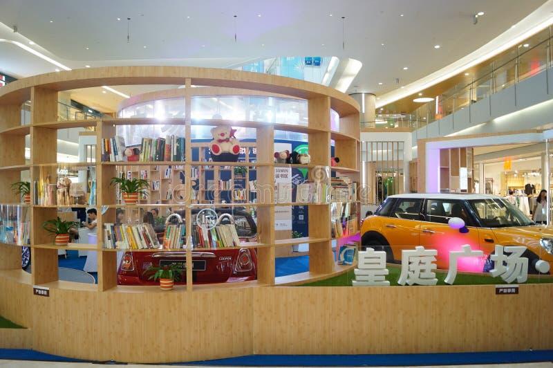 Shenzhen, China: Salón de la lectura del libro imagen de archivo libre de regalías