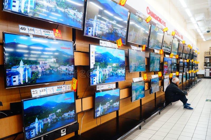 Shenzhen, China: Wal-Mart fotografia de stock royalty free