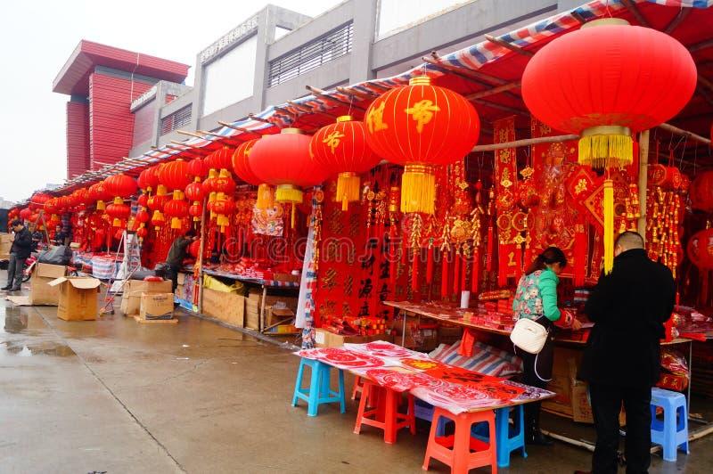 Shenzhen, Chine : pour rencontrer le marché de fleur de festival de printemps photo libre de droits