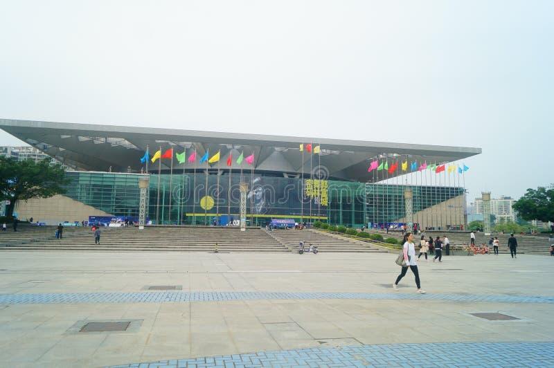 Shenzhen, Chine : station 2019 de Shenzhen de tour du monde de mot de passe de danse de fucheng de Guo images stock