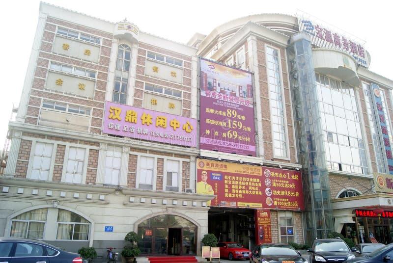Shenzhen, Chinese: Street Landscape Editorial Image