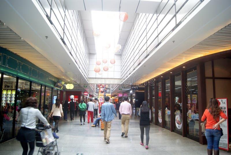 Shenzhen, Chinois : Paysage de rue de nourriture photos stock