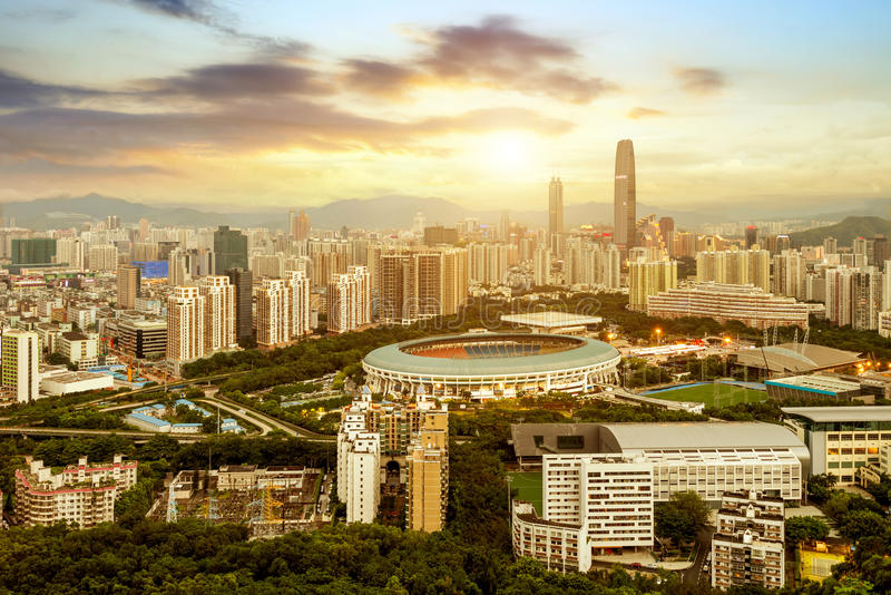 Shenzhen, Chiny obraz stock