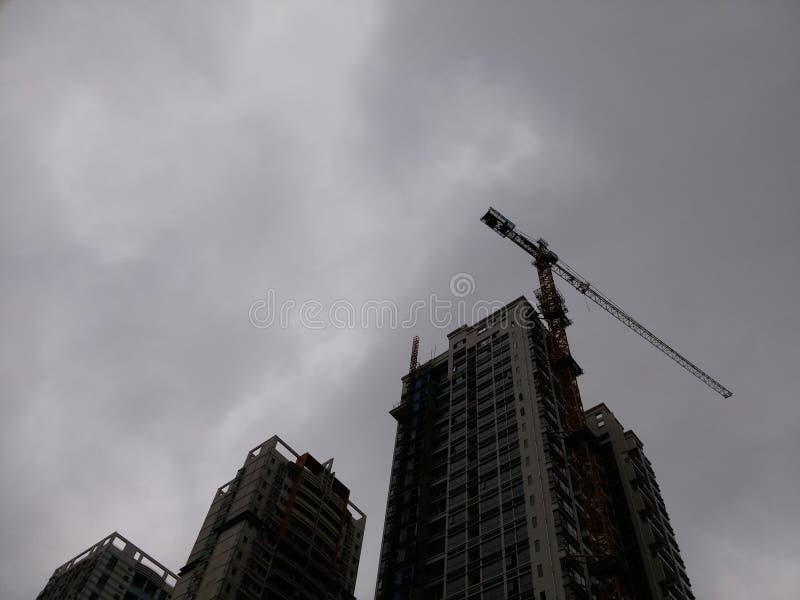 Shenzhen, Cina: edifici residenziali nell'ambito di nuova costruzione fotografia stock