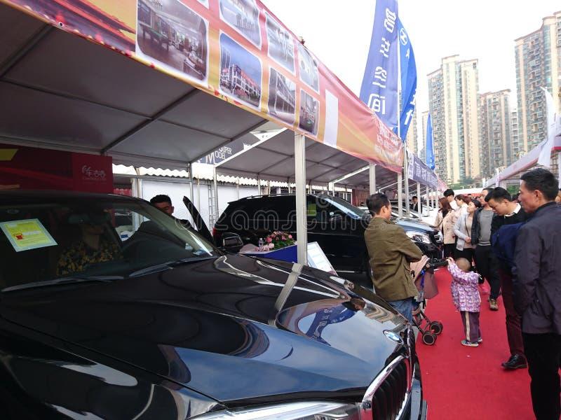 Shenzhen, Cina: Mostra internazionale dell'automobile di ovest 2018 immagine stock libera da diritti