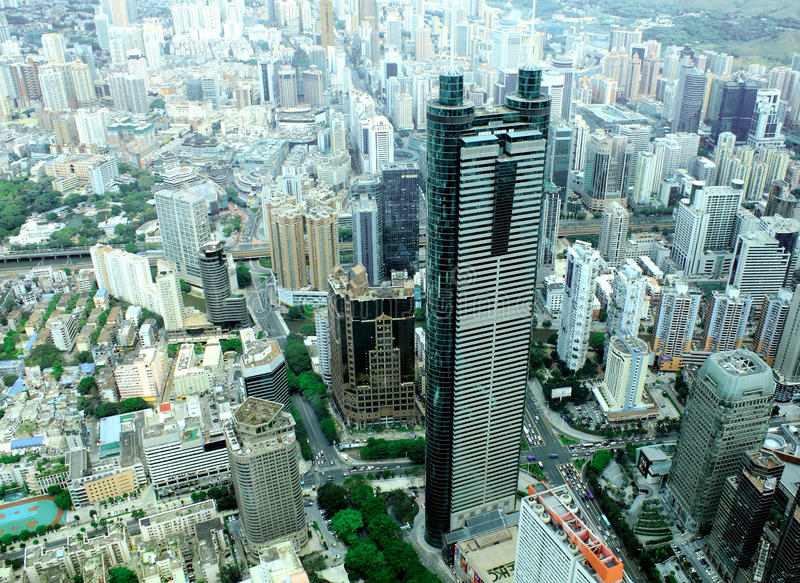 Shenzhen city,China stock photo