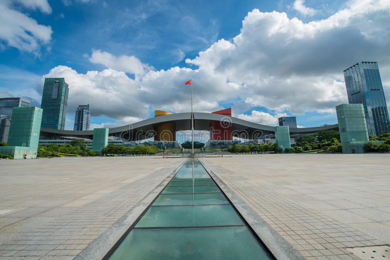 Download Shenzhen Civic Center Editorial Stock Photo - Image: 33519338