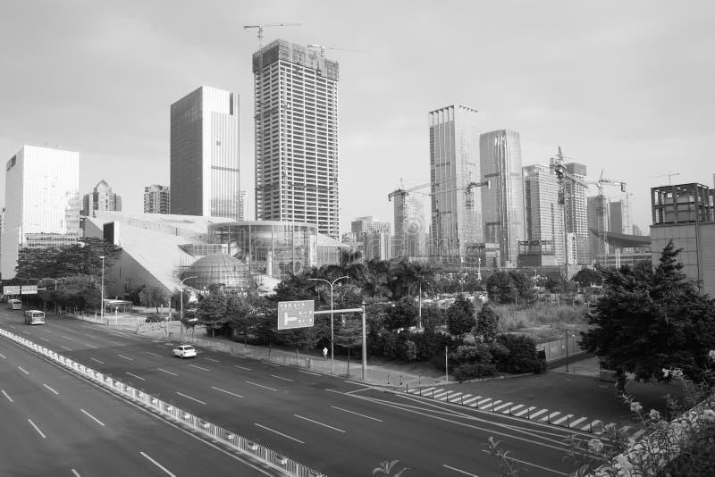 Shenzhen du centre image stock