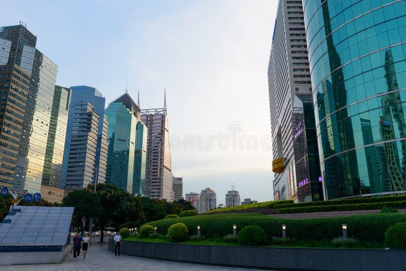 Shenzhen du centre photos stock