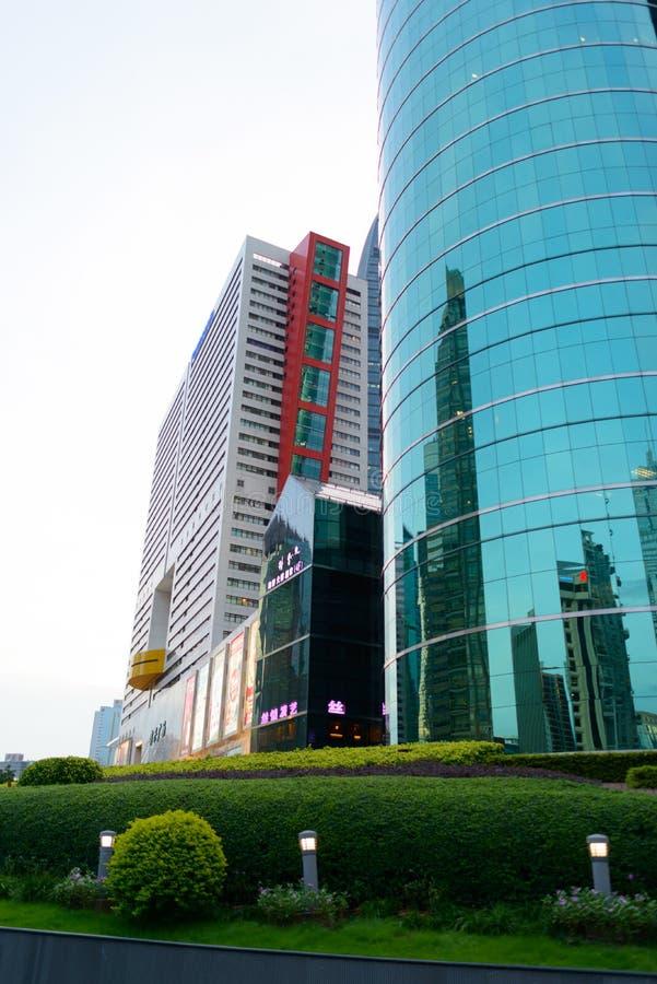 Shenzhen du centre images stock
