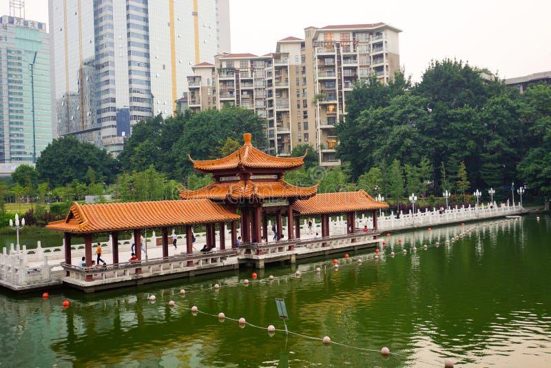 Shenzhen du centre image libre de droits