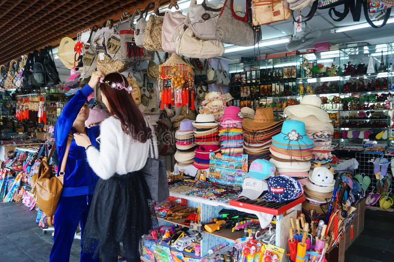 Shenzhen Folk Culture Village. Scenic area, in Guangdong, China stock photos