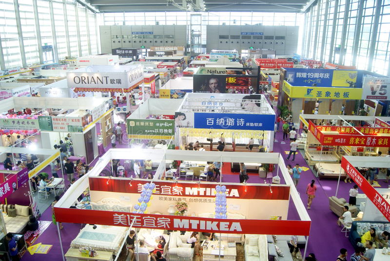 Download Shenzhen Home Decoration Building Materials Expo Landscape, In  China Editorial Photography   Image Of
