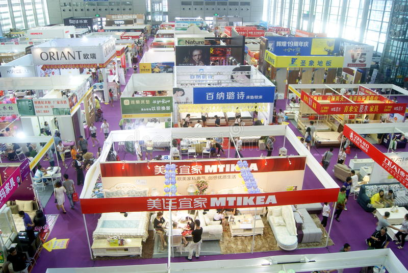 Download Shenzhen Home Decoration Building Materials Expo Landscape, In  China Editorial Image   Image Of
