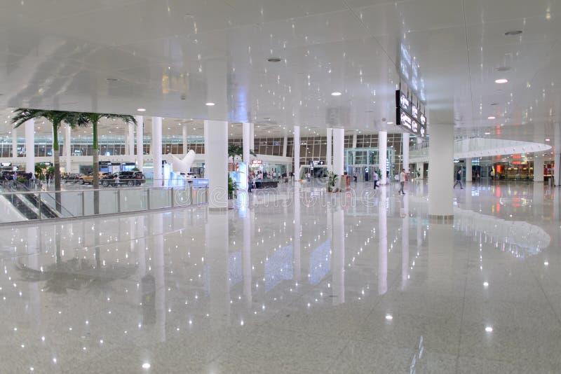 Shenzhen lotniska wnętrze zdjęcie stock
