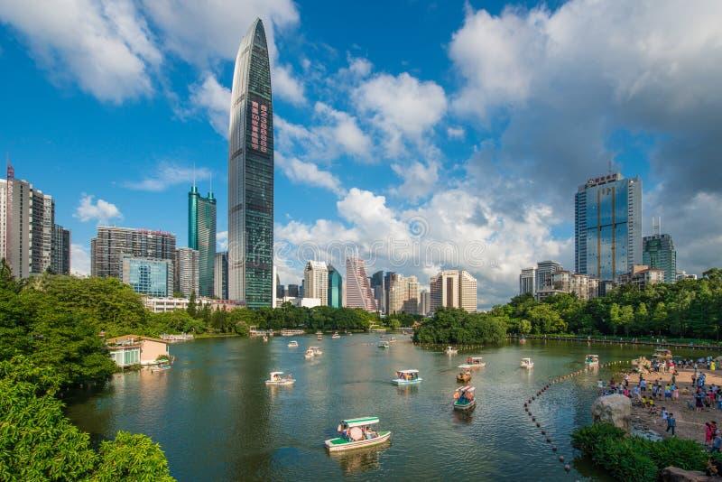 Shenzhen Luohu fotografía de archivo