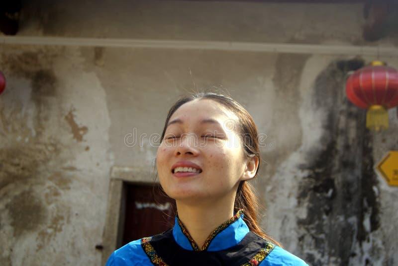 Shenzhen, porcelaine : fille de hakka image stock