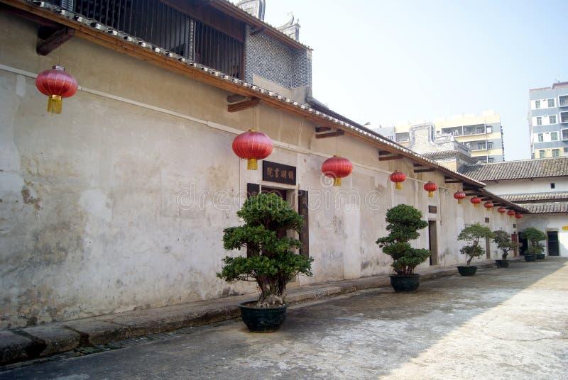 Shenzhen, porcellana: case del lago della gru di hakka nuove immagine stock
