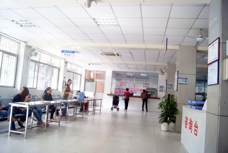 Shenzhen, Porzellan: Gesundheits- und Epidemieverhinderungsstation lizenzfreies stockfoto