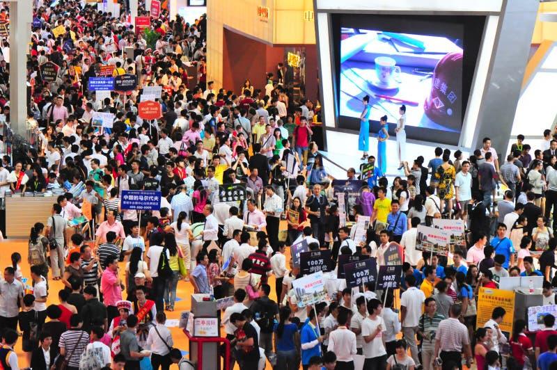 Download Shenzhen Real Estate Trade Fair Editorial Image - Image: 21389320
