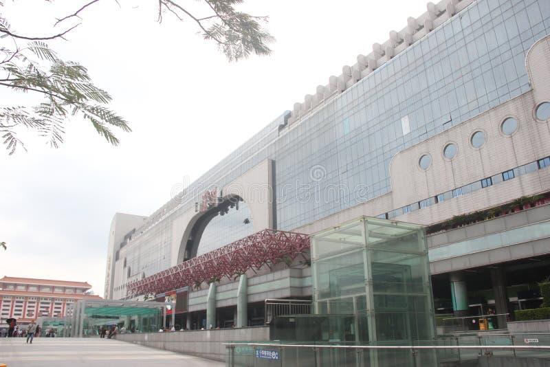 Shenzhen Stationï ¼ Œchinaï Kolejowy ¼ ŒAsia zdjęcia stock