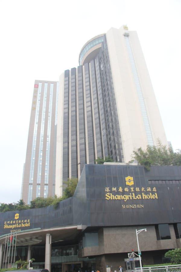 ¼ Shenzhens Shangrila Hotelsï Œchinaï-¼ ŒAsia stockbild