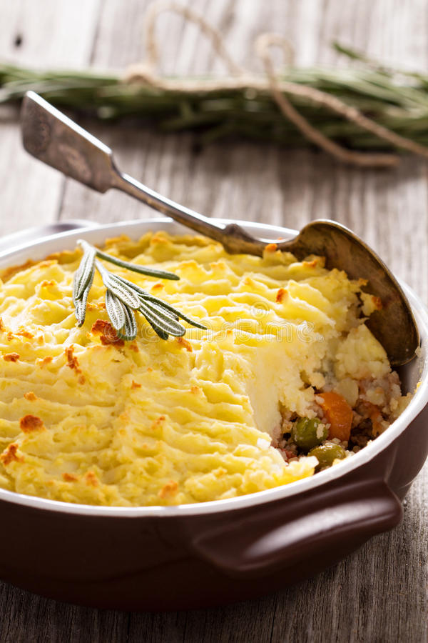 Sheperd's pie royalty free stock photos