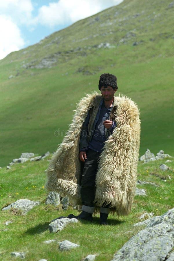 Download Shepherd stock photo. Image of oslea, carpathians, romanian - 21844544