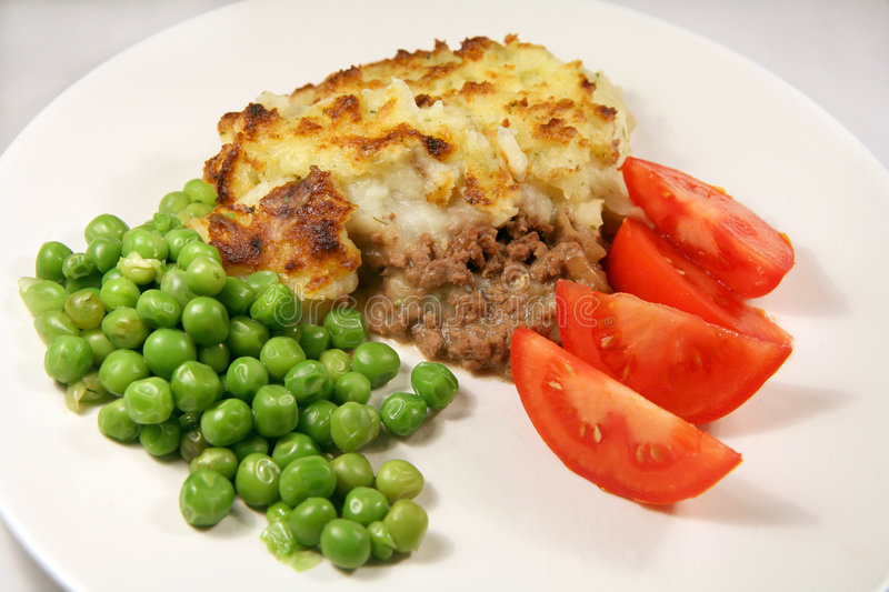 Shepherd's pie meal royalty free stock images