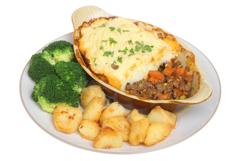 Shepherds Pie royalty free stock photo