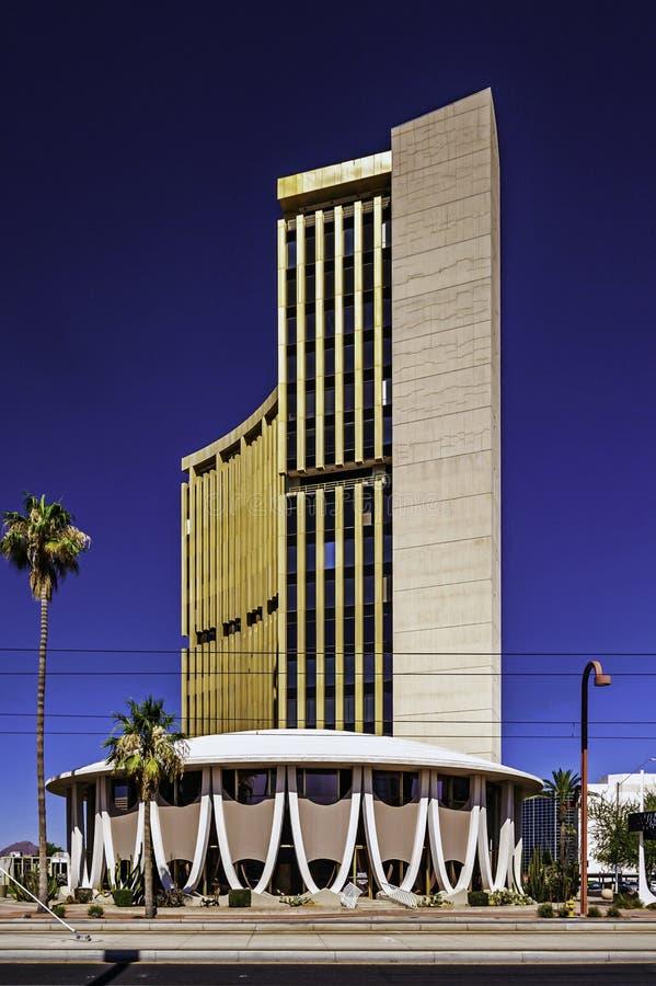 Shepley Bulfinch大楼位于亚利桑那州的凤凰城 库存照片