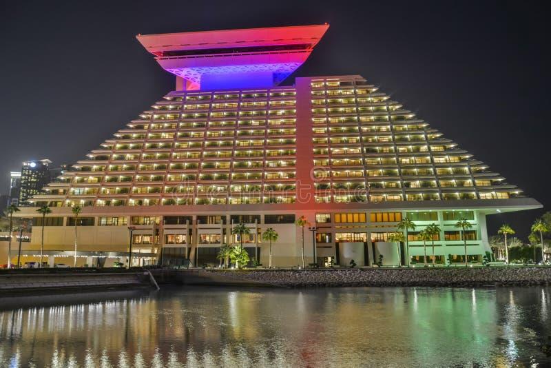 sheraton Катара гостиницы doha стоковая фотография