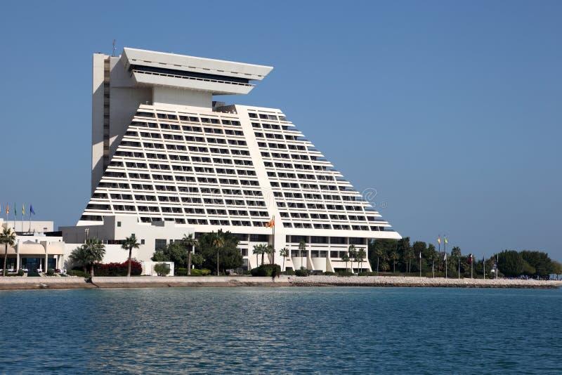 Sheraton Hotel in Doha, Qatar stockfoto