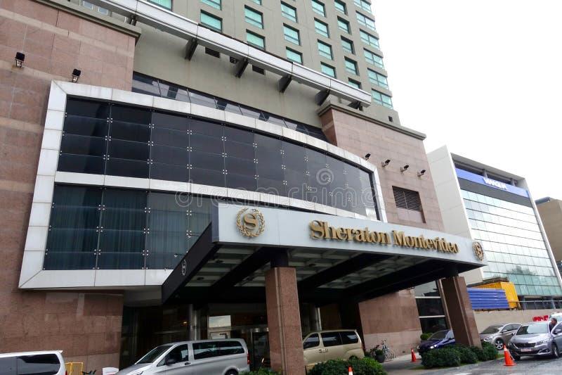 Sheraton Hotel en Montevideo foto de archivo libre de regalías