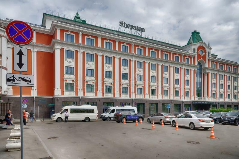Sheraton hotel stock photography
