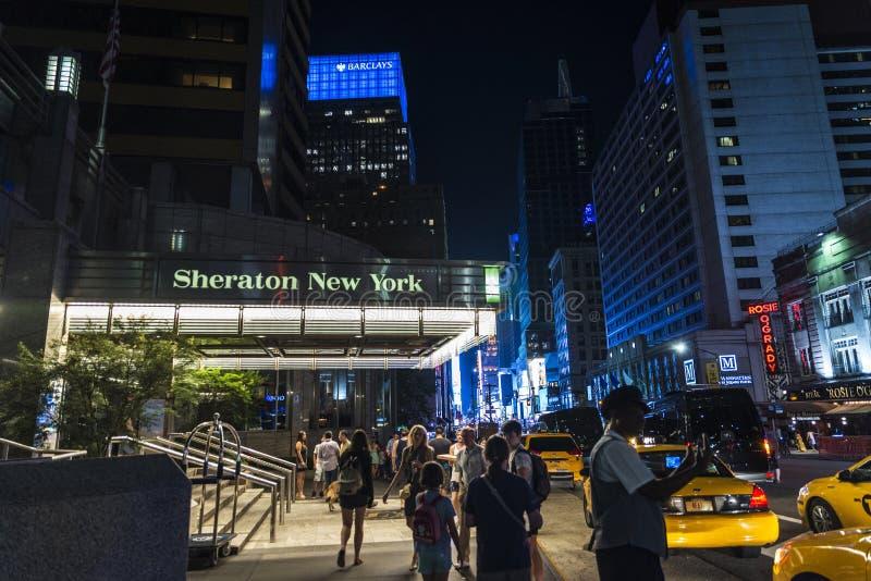 Sheraton New York Times kwadrata hotel w Miasto Nowy Jork, usa zdjęcia stock
