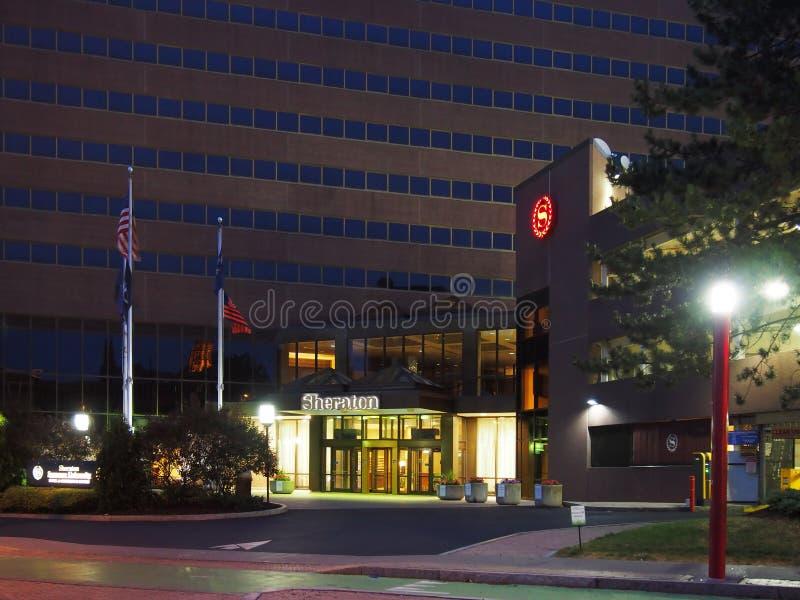 Sheraton Syracuse University Hotel & centro congressi immagini stock libere da diritti