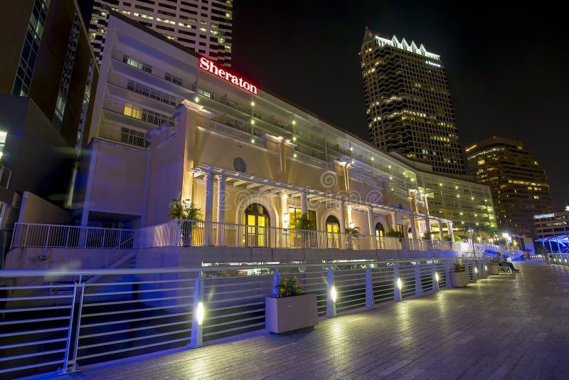 The Sheraton Tampa Riverwalk Hotel stock image