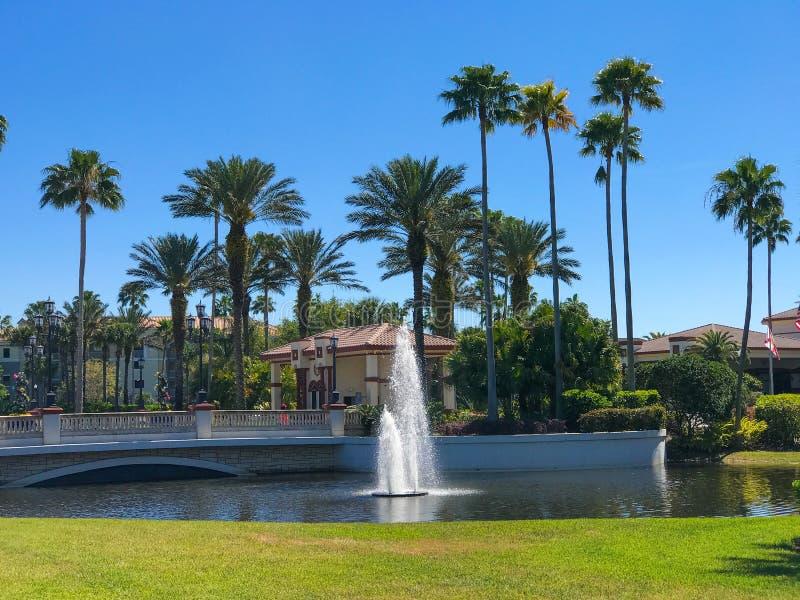 Sheraton Vistana Villages Orlando, Florida arkivbild