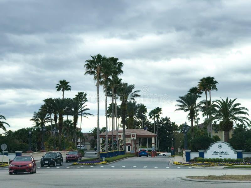 Sheraton Vistana Villages Orlando, Florida arkivfoton