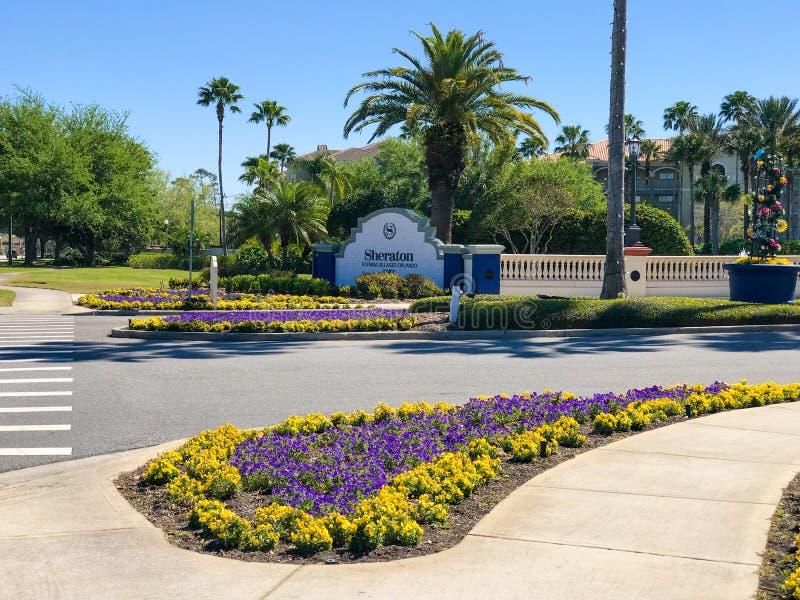 Sheraton Vistana Villages, Orlando, Florida. The Sheraton Vistana Villages in Orlando, Florida royalty free stock image