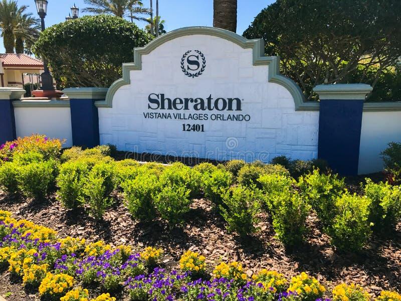 Sheraton Vistana Villages, Orlando, Florida. The Sheraton Vistana Villages in Orlando, Florida stock image