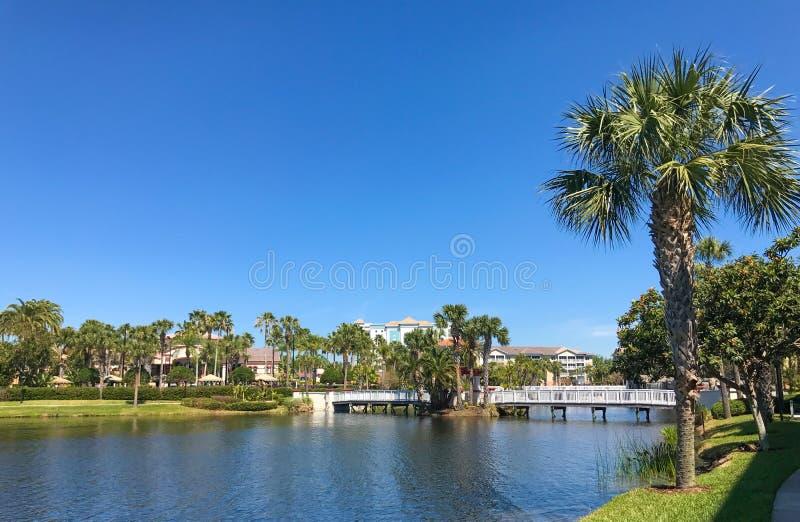 Sheraton Vistana Villages, Orlando, Florida. The Sheraton Vistana Villages in Orlando, Florida royalty free stock photos