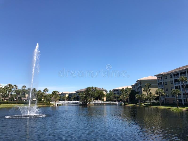 Sheraton Vistana Villages, Orlando, Florida. The Sheraton Vistana Villages in Orlando, Florida stock photo