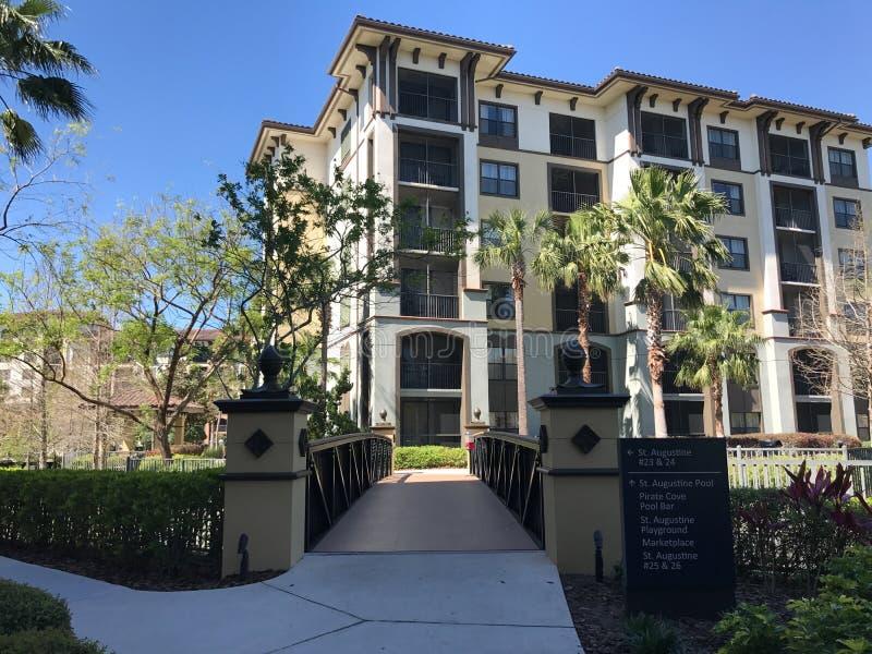Sheraton Vistana Villages, Orlando, Florida. The Sheraton Vistana Villages in Orlando, Florida stock photography