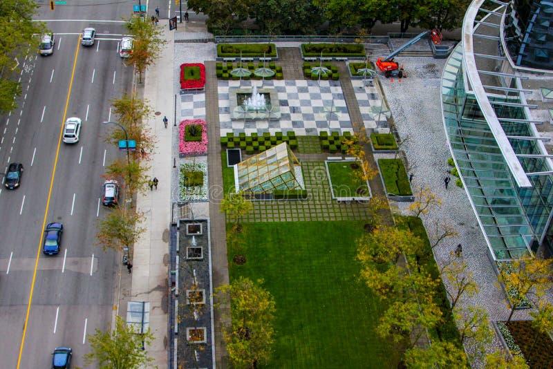 Sheraton Wall Centre, Vancouver, A.C. imagen de archivo libre de regalías