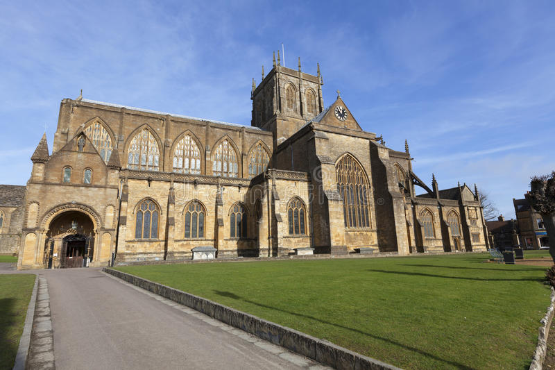 Sherborne Abbey royalty free stock photography