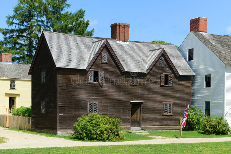 Sherburnehuis, Portsmouth, New Hampshire royalty-vrije stock fotografie