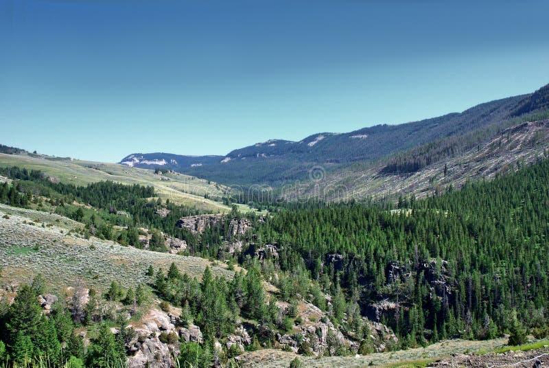 Sheridan, montañas del Bighorn lugar histórico en Wyoming foto de archivo libre de regalías